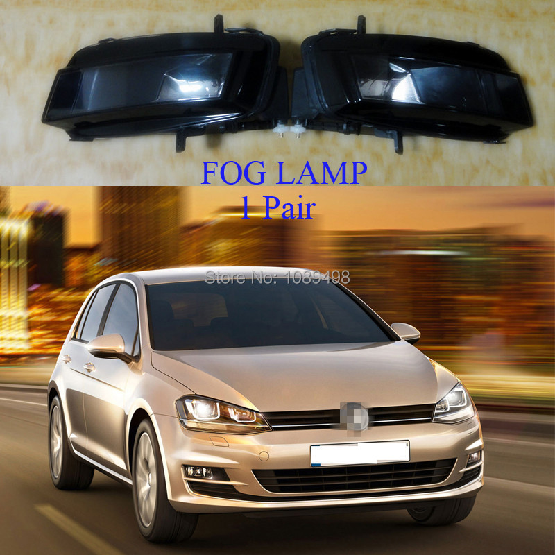 2 Pieces/Pair front fog lamps bumper fog lights for VW MK7 Volkswagen Golf VII 7 2014 lift the flap word book baby board books learning and educational picture story books stereo book learning word wholesale