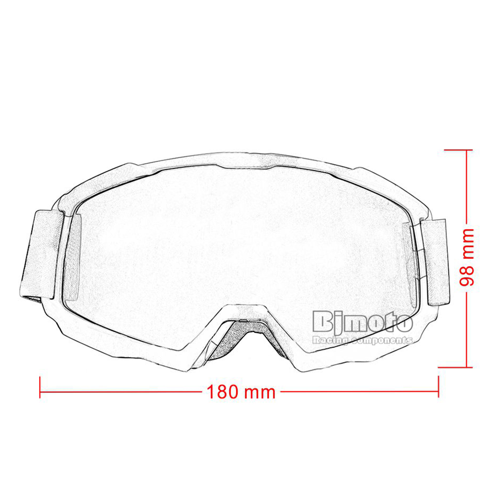 Adult Flexible Sking Goggles (10)