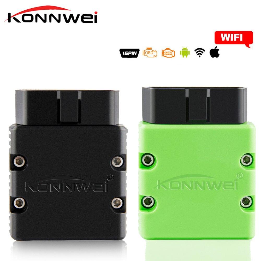 KONNWEI ELM327 WIFI V1.5 PIC25K80 KW902 Autoscanner ULME 327 WIFI Unterstützung IOS für iPhone iPad und Android PC EML327 Volle protokoll