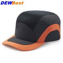 Противоударные легкие защитные шлемы, модная спортивная бейсболка, шапка, защитный шлем для работы