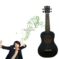 New small size exquisite black beginners font b ukulele b font soprano musical instrument.jpg 200x200