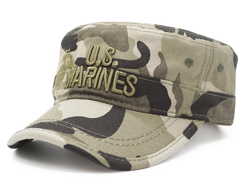 army peaked dad cap