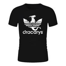 Dracarys tshirt Game Of Thrones t shirt Brand T-Shirt harajuku Vintage Camisetas hombre Tshirt Men Women