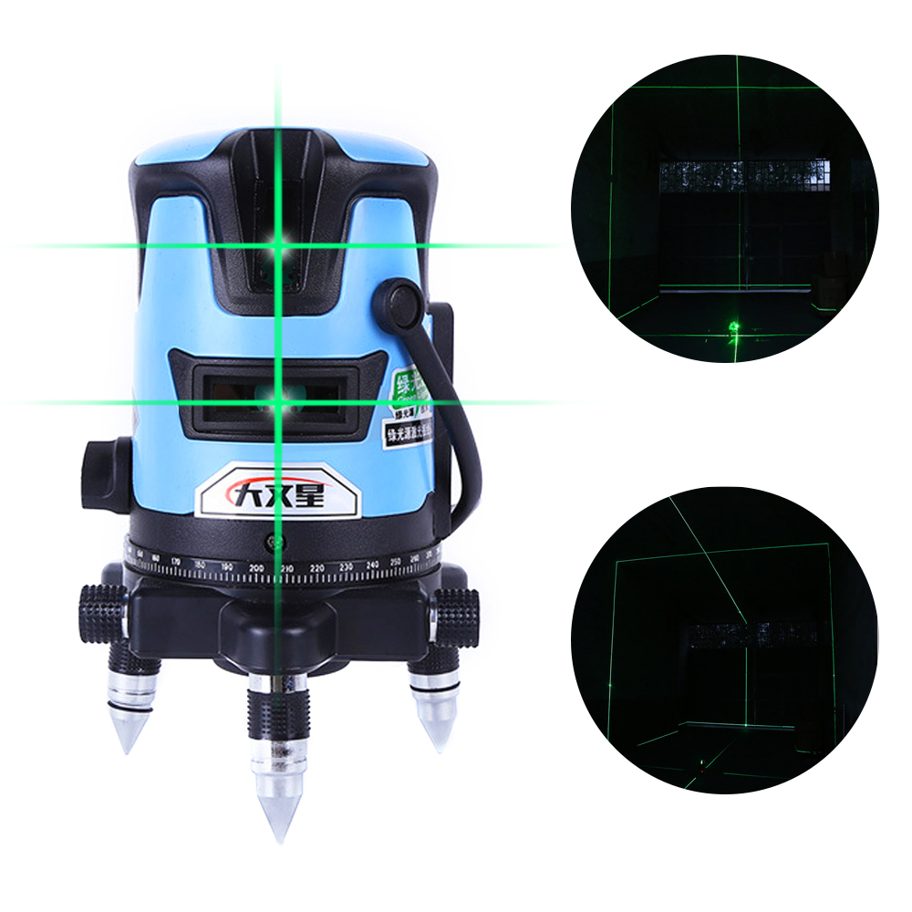 SPY301 5Line 6 Points 3D Green Touch Laser Level Nivel A Laser 360 Autonivelante For Profissional Construction Tools Lazer Level