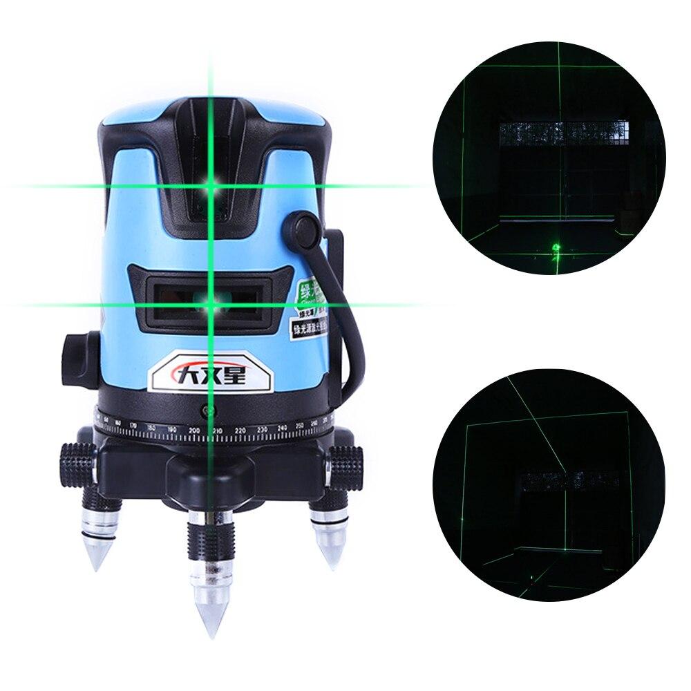 SPY301 5 Linha 6 Pontos 3D Toque Verde Lasers Nivel a Laser 360 Graus Lazer Nível Laser Profissional Construção Civil Ferramenta Lazer Metre Auto Nivelamento Laser Level Meter Line Cross уровень