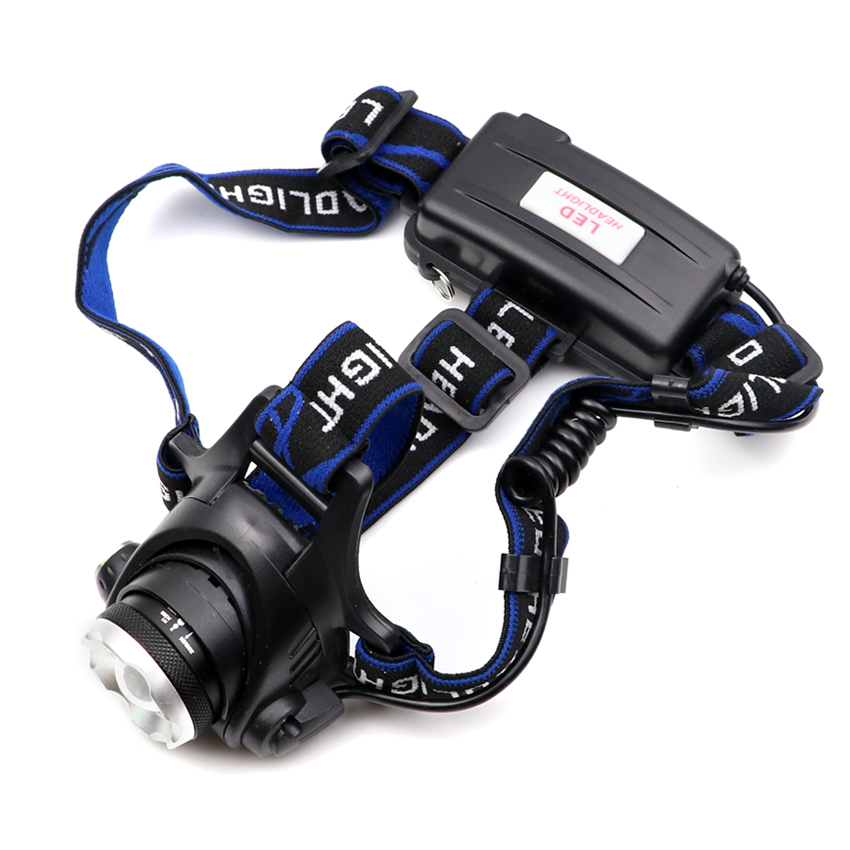 Reasonable Outdoor Xml L2 T6 Led Zoom Headlamp 18650 Zoomable Head Light Lamp Torch Flashlight Lanterna For Fishing Hunting Camping Cycling Crease-Resistance Portable Lighting