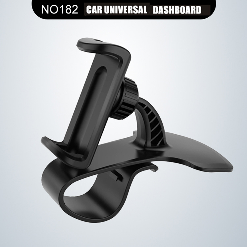 Universal 360 Degrees Rotation Car HUD Phone Holder For IPhone Samsung Dashboard Mount Clip On Non-slip Phone Stand For Huawei