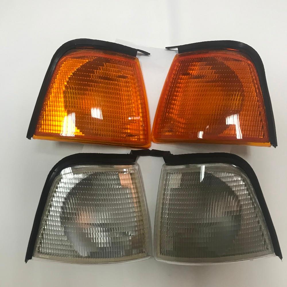1 Pair  Lamp  For Audi 80 B3 Front Corner Turn Signal Fog Light Lamp 1986 1987 1888 1989 1990 1991