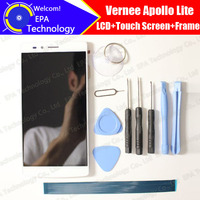 Vernee Apollo Lite LCD Display Touch Screen Digitizer Frame Assembly 100 Original New LCD Touch Digitizer