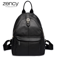 Hot Selling New Women Backpack Real Cowhide 100 Genuine Leather Simple Practical Travel Schoolbags For Girls