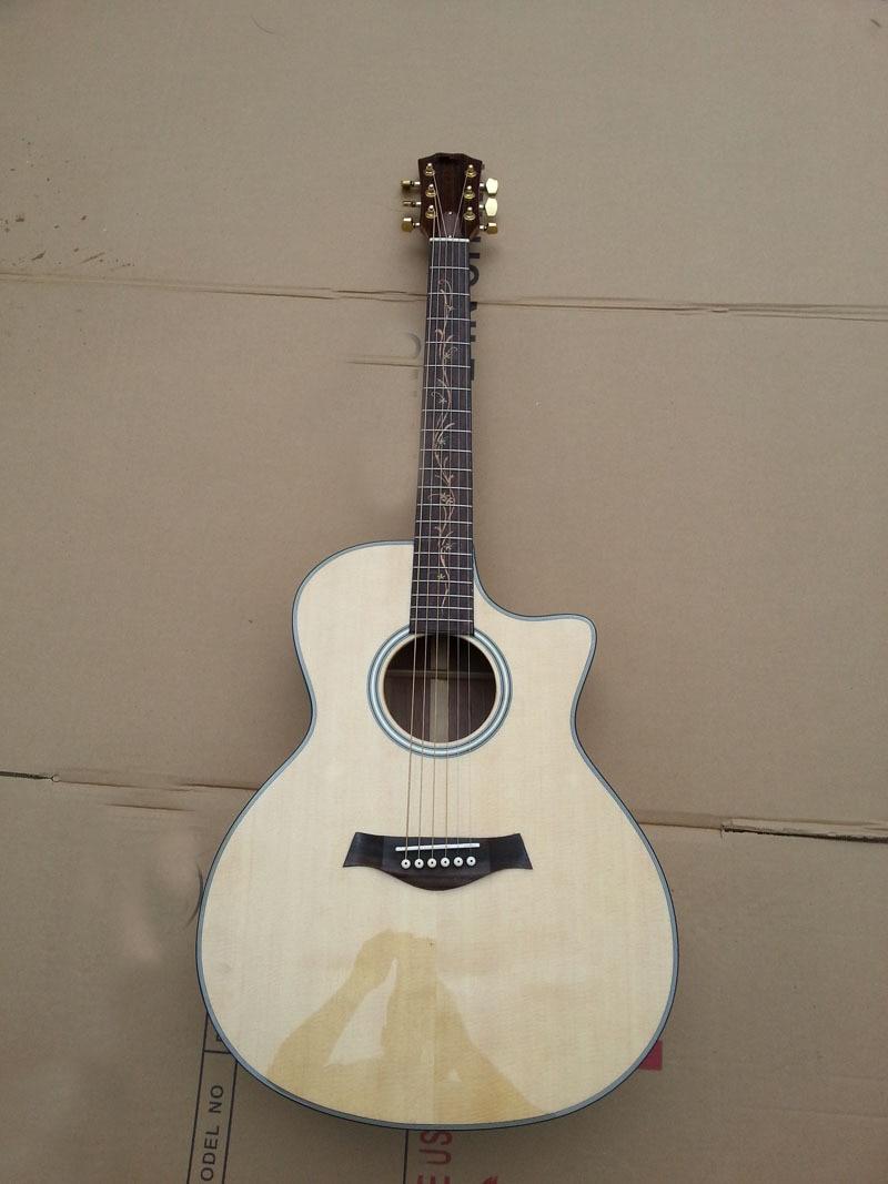 Doprava zdarma import Tay k20 akustická kytara s rybářem101 EQ přírodní barva