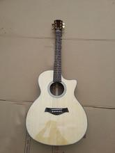 Miễn phí vận chuyển nhập khẩu Tay k20 acoustic guitar với fishman101 EQ màu sắc tự nhiên