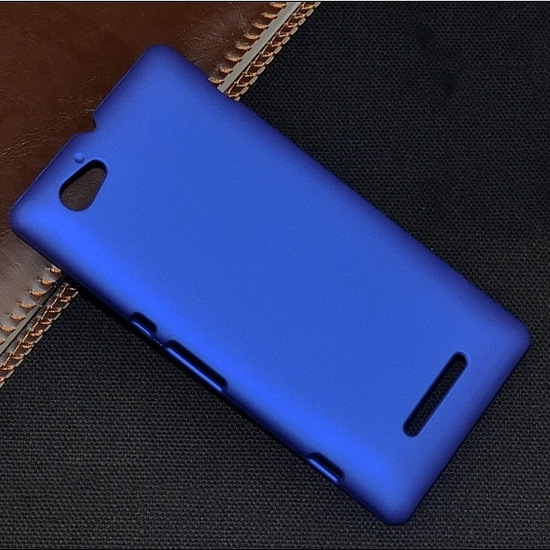 hot sales 8ba71 99d72 US $2.98 20% OFF|Case For Sony Xperia M C1905 Slim Rubberized Matte Hard  Back Cover for Sony Xperia M C1905 C1904 Dual C2004 C2005 Phone Fundas-in  ...
