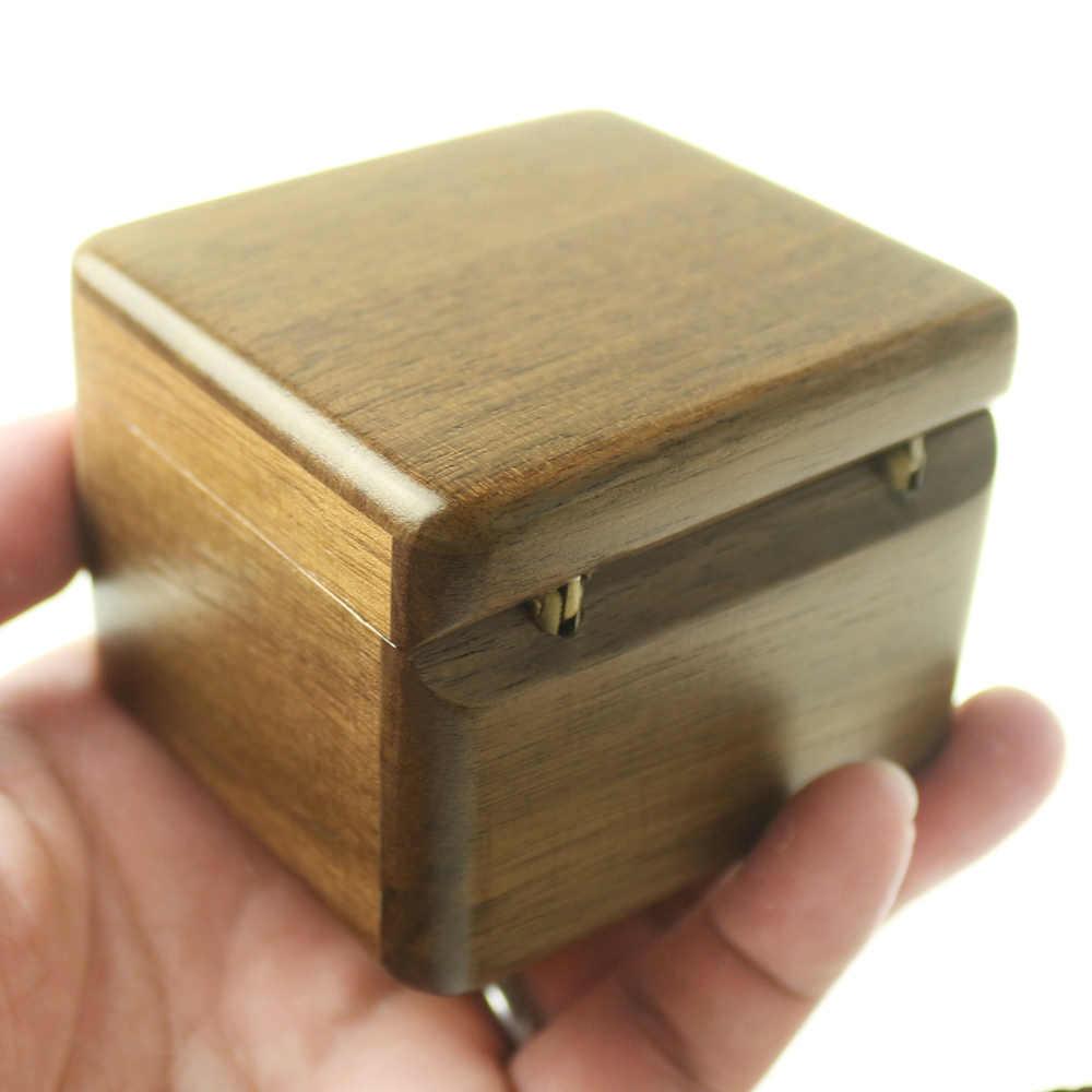 Sinzyo Handmade Wooden Photo frame My heart will go on Walnut Music box birthday Gift For Christmas/Valentine's day gift boxs