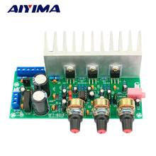 AIYIMA Power Amplifiers Audio Board TDA2050+TDA2030 2.1 Amplificador Subwoofer Amplifier Board DIY For Home Theater