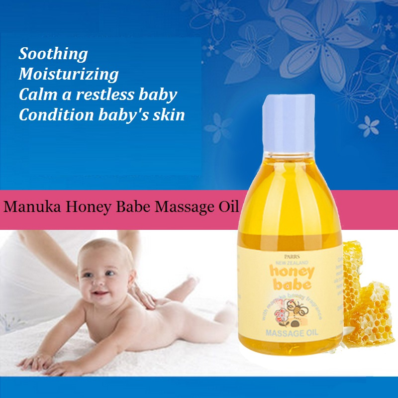 100% Original NewZealand Parrs Manuka Honey Baby &Tired mother natural Relaxing Massage Oil Soothing Moisturizing baby skin care anariti relaxing massage oil
