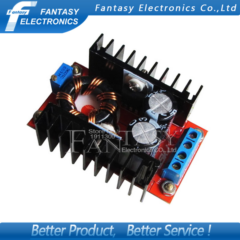 1pcs <font><b>150W</b></font> Power <font><b>Boost</b></font> <font><b>converter</b></font> Module <font><b>150W</b></font> Car power 10-32V Turn 12-35V <font><b>Boost</b></font> module new image