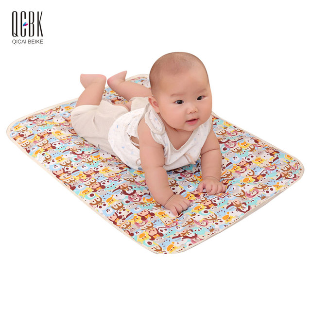 Reusable Baby Changing Mat Cover Mattress Sheet Protector Bedding Burp  Diaper Nappy Changing Pad Breathable Waterproof  50*70cm
