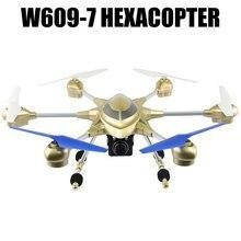HUAJUN W609-7 5.8G FPV Pathfinder 2 6 Axe Gyro 4.5CH 2.4G RC Hexacopter avec 2.0MP HD Caméra-US Plug