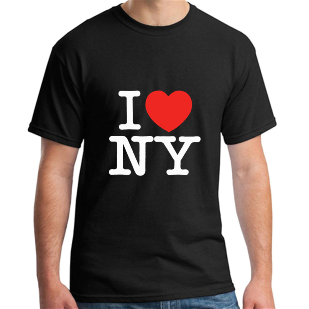 T <font><b>Shirts</b></font> For men <font><b>I</b></font> <font><b>Love</b></font> <font><b>NY</b></font> New York Printed Heart New High Quality T <font><b>Shirt</b></font> Customized T-<font><b>Shirt</b></font> XXXl image
