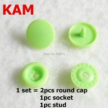Juego de broches de plástico para pañales de bebé, set de 500 broches de resina con botones sujetadores para ropa de bebé, tamaño T5, 20 KAM (500 juegos por color)