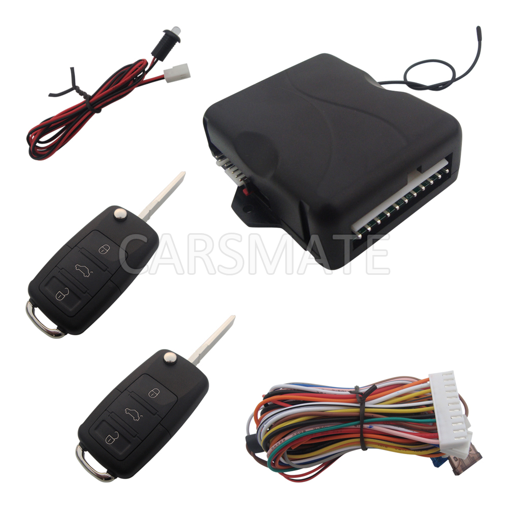 Hopping Code Car Remote Keyless Entry System With HAA Flip Key Remote Controls & Remote Trunk Release In Stock