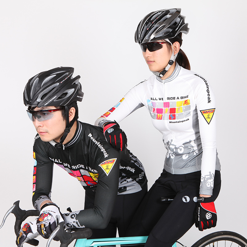 Mountainpeak Autumn and Winter Long Sleeved Riding Suit, Men and Women, Men and Women .