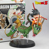 Free Shipping Cool 5 Dragon Ball Z GOKU Son Gokou Riding The Dragon Version Boxed PVC