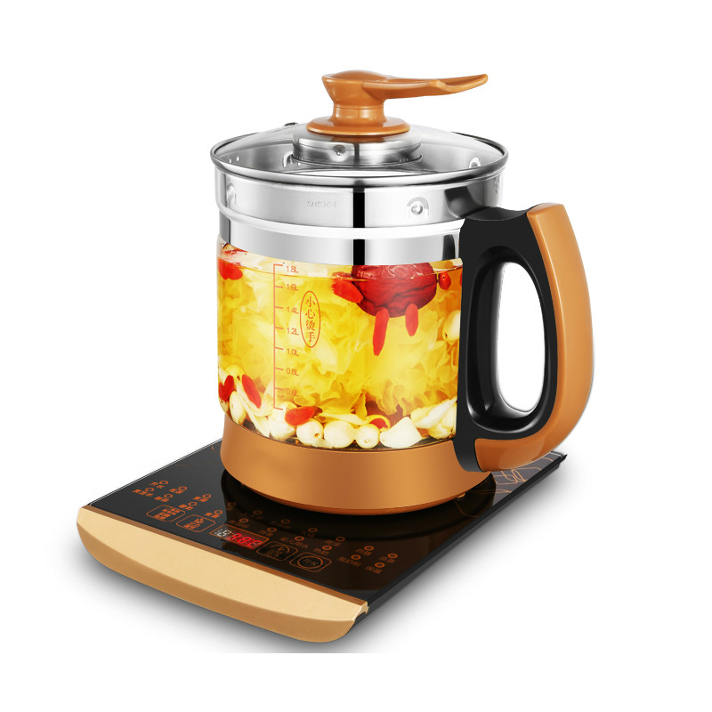 Electric kettle Curing pot Fully automatic thickened glass - made teapot with multi-function flower electric kettle curing pot tea black tea pu er fully automatic thickened glass multi function flower teapot