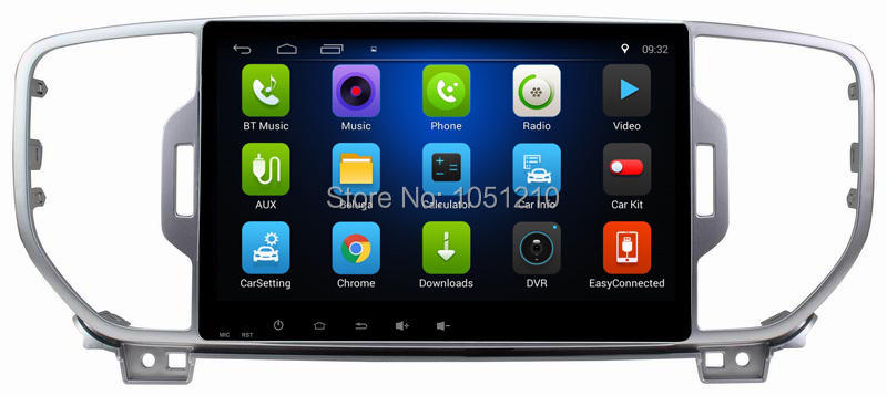 Ouchuangbo 9 inch auto radio multimedia recorder for Kia KX5 2016 with gps navigation AUX USB wifi mirror link android 8.1