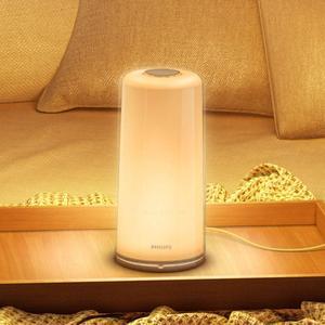 Image 3 - Hot PHILIPS Zhirui LED Bedside light Smart indoor table lamp USB charging night light bedroom desk lamp control by Mihome APP
