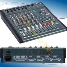 High Quality 6 Channel Audio Music USB Mixer Mixing Console Pro Digital effect processor Console de mistura de mixagem de MX606