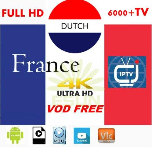 IPTV M3U Smart-Tv-Box Belgium Iptv-Subscription France German Poland Arabic Sweden Live-Vod