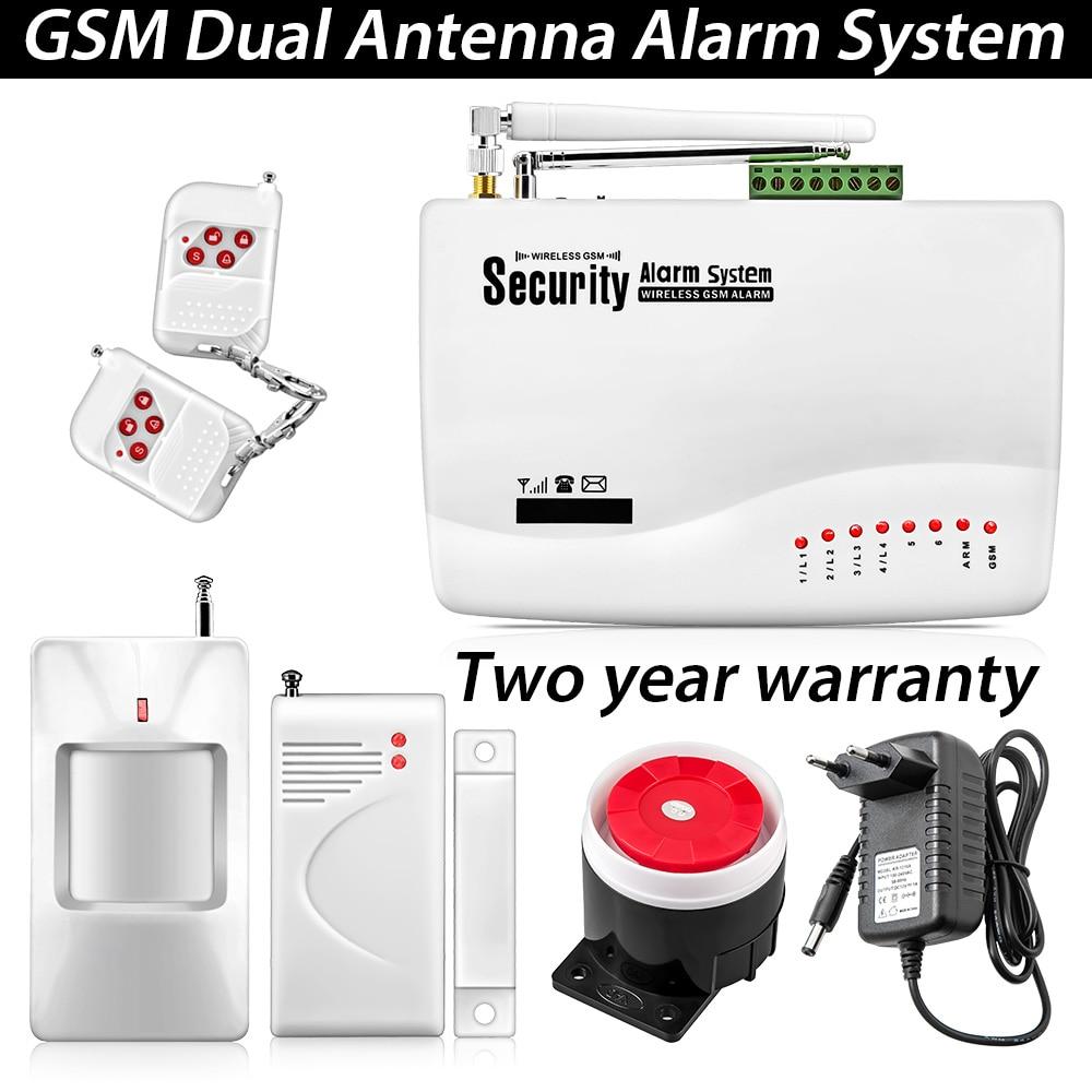 Kerui Wholesale GSM Dual Antenna Home Voice font b Security b font Alarm Tri band 433