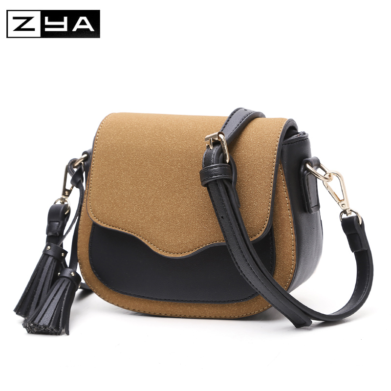 Fashion high quality PU Leather WomenMessenger Bags Ladies Vintage Rivet Crossbody Shoulder BagsFemale Small Clutch Handbags