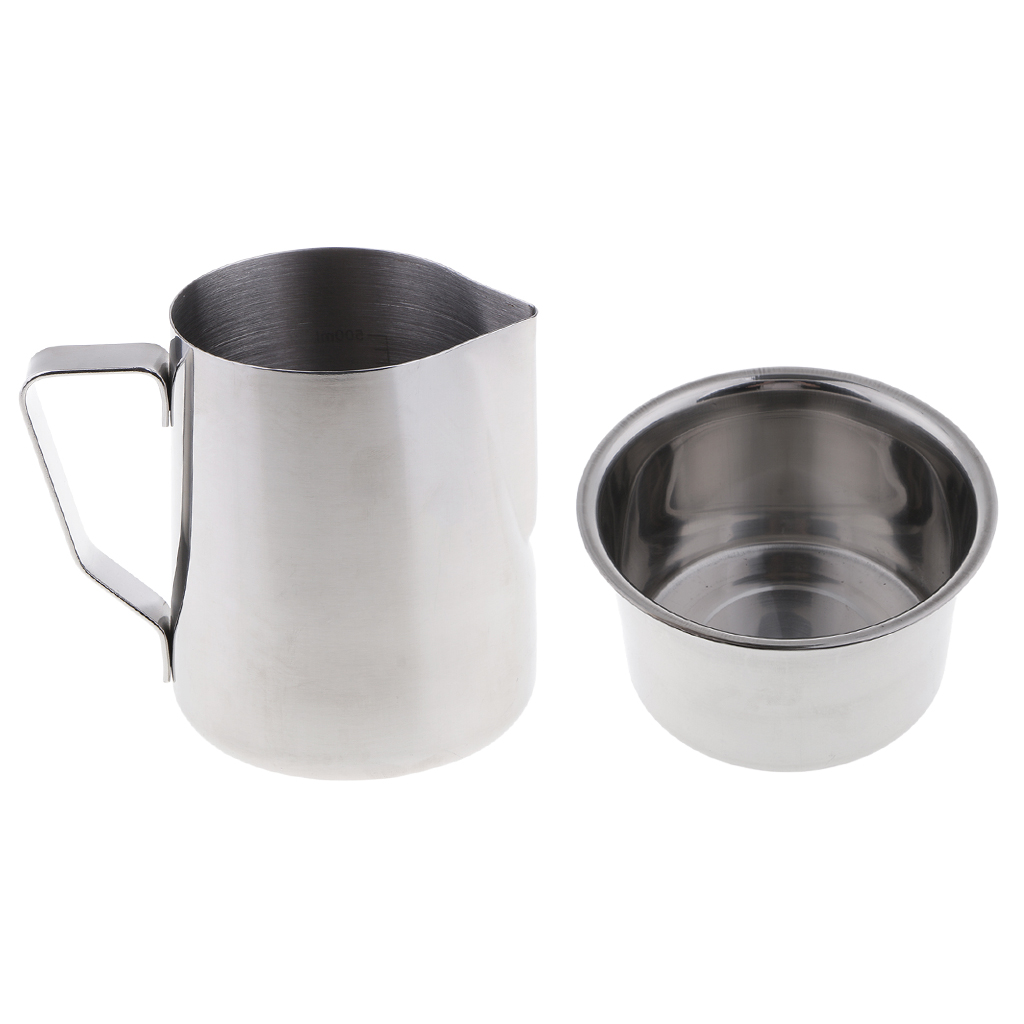 Pitcher Double Boiler Pot 300ml Soap Candle Making Wax Melting Pouring Pot