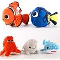 1 unids Dory Finding Nemo Dory de Peluche Juguetes de Peluche Colgante Llavero de Peluche Muñeca para la decoración del bolso