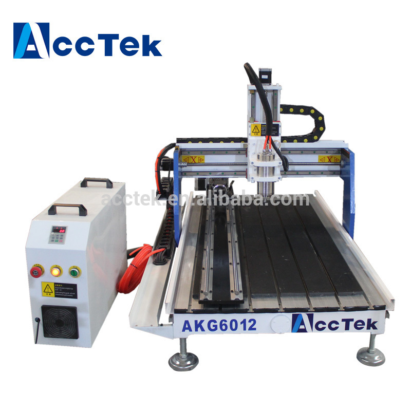 AccTek 6012 Mach3 controller milling machine cnc router for advertisement, sign making