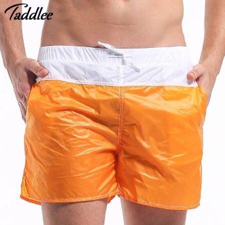 Taddlee Совершенно Новые Моды для Мужчин Шорты Случайный Сексуальный мужская Пляж Шорты Совета Шорты Досуг Человек Короткие Топы Стволы горячая