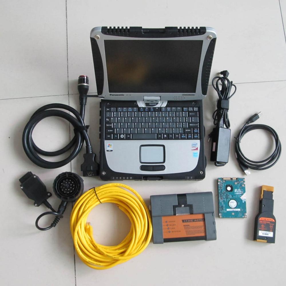 В НАЛИЧИИ Новое поступление ICOM A2 с программным обеспечением 2017.12 В HDD в Toughbook CF-19 + ICOM A2 b c для BMW диагностика и программирования