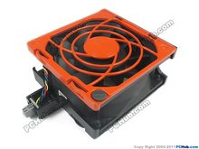 Free Shipping For Delta AFC0912DE, R4VP2-X02 DC 12V 3.0A 6-pin Server Square fan