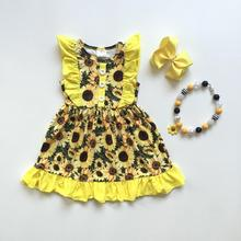 742ec07bbe8fb Buy sunflower dress baby and get free shipping on AliExpress.com