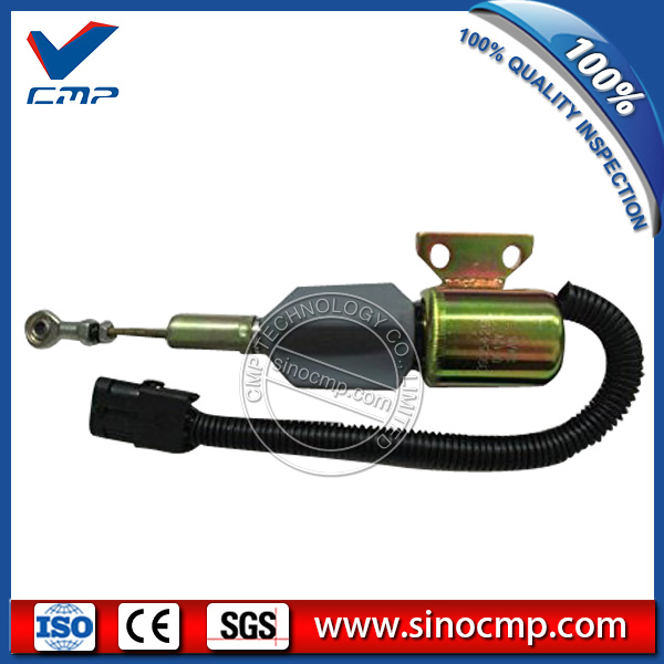 12v Flameout Stop Solenoid 3939700 for Komatsu PC200-6 Excavator12v Flameout Stop Solenoid 3939700 for Komatsu PC200-6 Excavator