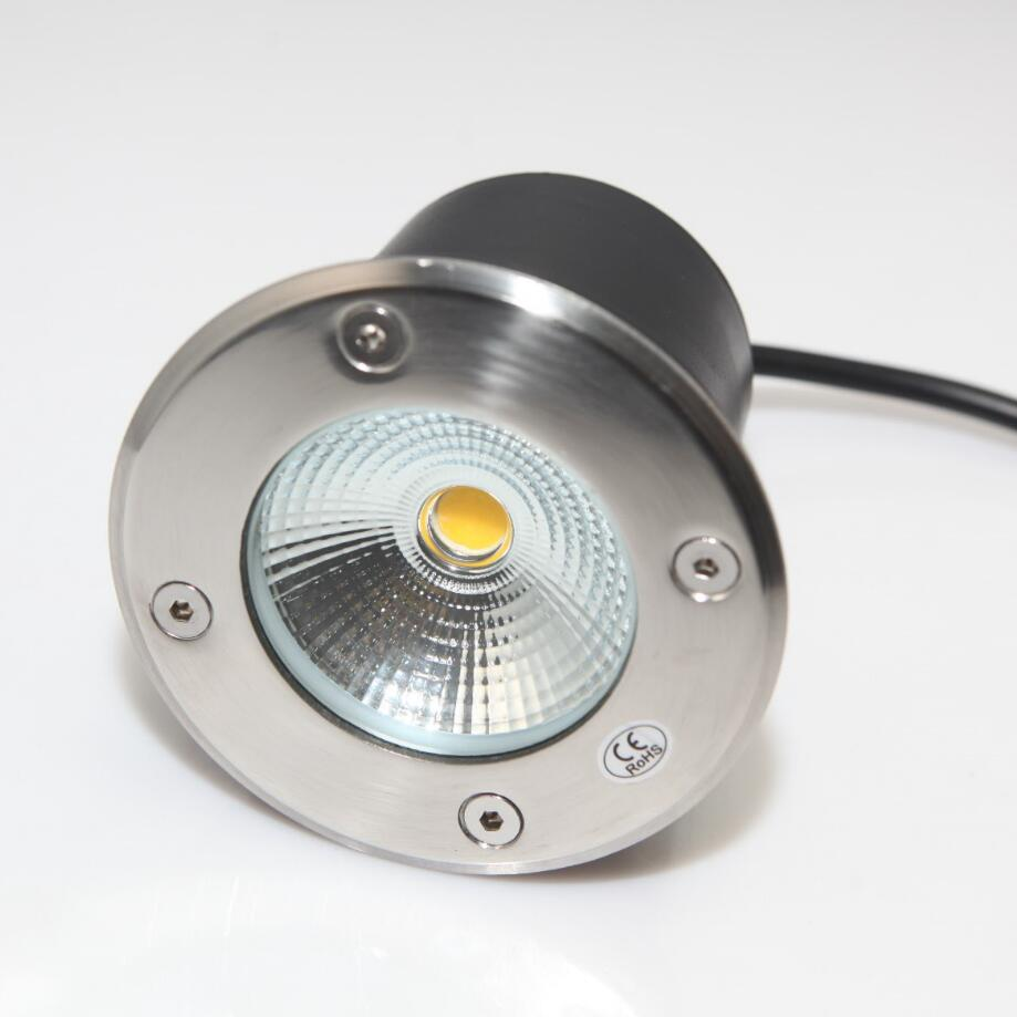 Led Lamps Tireless Ac85-265v/dc12v 15w Cob Led Underground Light Spot Lamp Ip68 Waterproof Lamp Outdoor Under Ground Garden Light 10pcs/lot Rapid Heat Dissipation