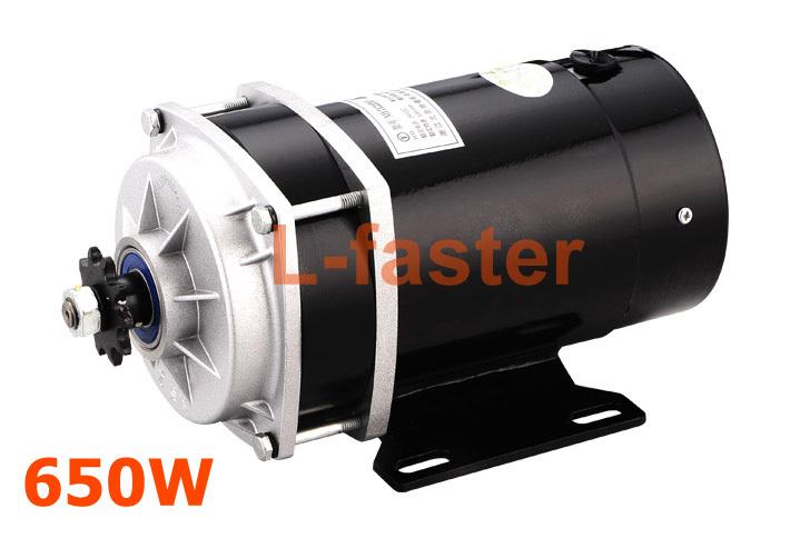 Buy 36v48v 650w electric tricycle motor for Electric car motor manufacturers