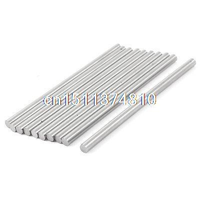 10 Pcs 5mm x 100mm HSS Grooving Tool Round Turning Lathe Bars Silver Gray best price mgehr1212 2 slot cutter external grooving tool holder turning tool no insert hot sale brand new