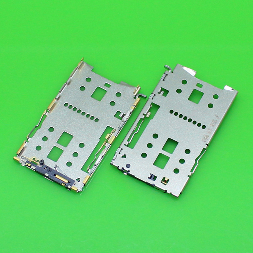 ChengHaoRan 1 Piece High quality Iron cover sim card socket slot holder connector for Meilan Note 2.KA-230