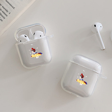 Little princess Case For Apple airpods case Cover Cute Wireless Bluetooth Earphone Airpods Headphone Protective