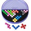 Классический Судоку головоломки пирамиды пластины жемчужина логические IQ mind game Логические развивающие игрушки kid дети пирамида шарики головоломки