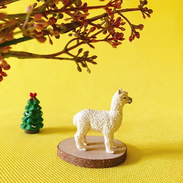 Sale~1Pcs Alpaca/fairy Garden Gnome/moss Terrarium Decor/crafts/bonsai